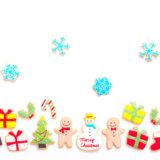 クリスマスを演出するアイシングクッキー