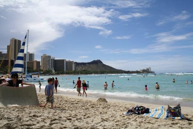 卒業旅行に人気があるハワイの風景