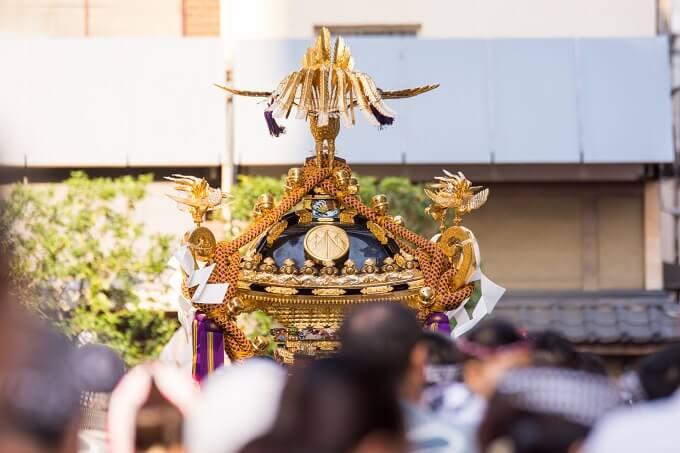 三社祭の最大の見どころ宮出し